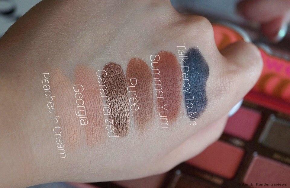 Too Faced Sweet Peach Eye Shadow Collection Lidschatten Foto