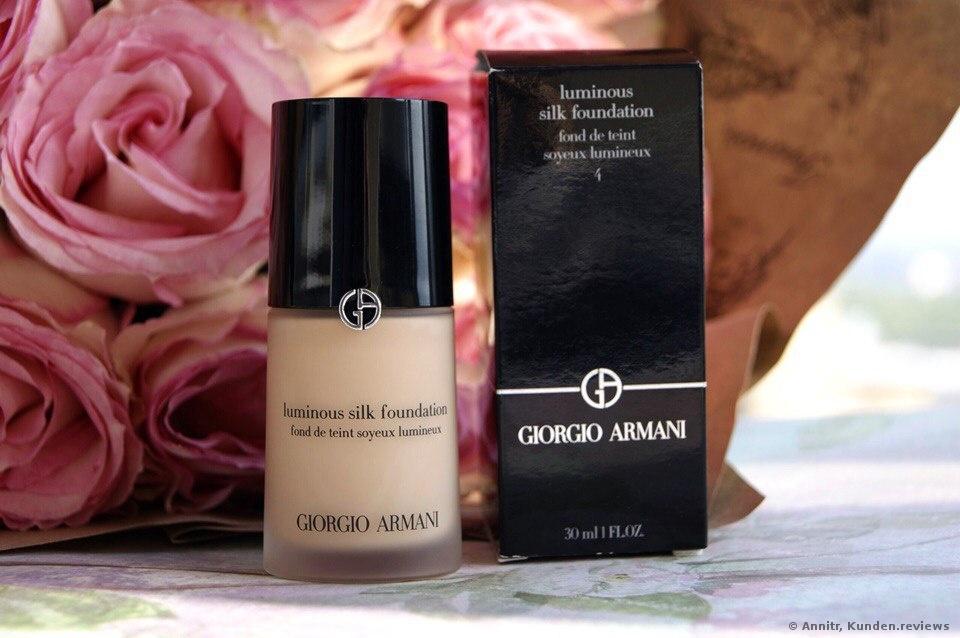 Giorgio Armani Luminous Silk Foundation Foto