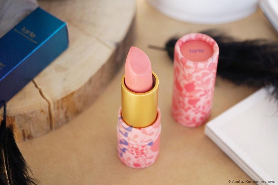 Tarte Amozonian Butter Lipstick  - Golden Pink