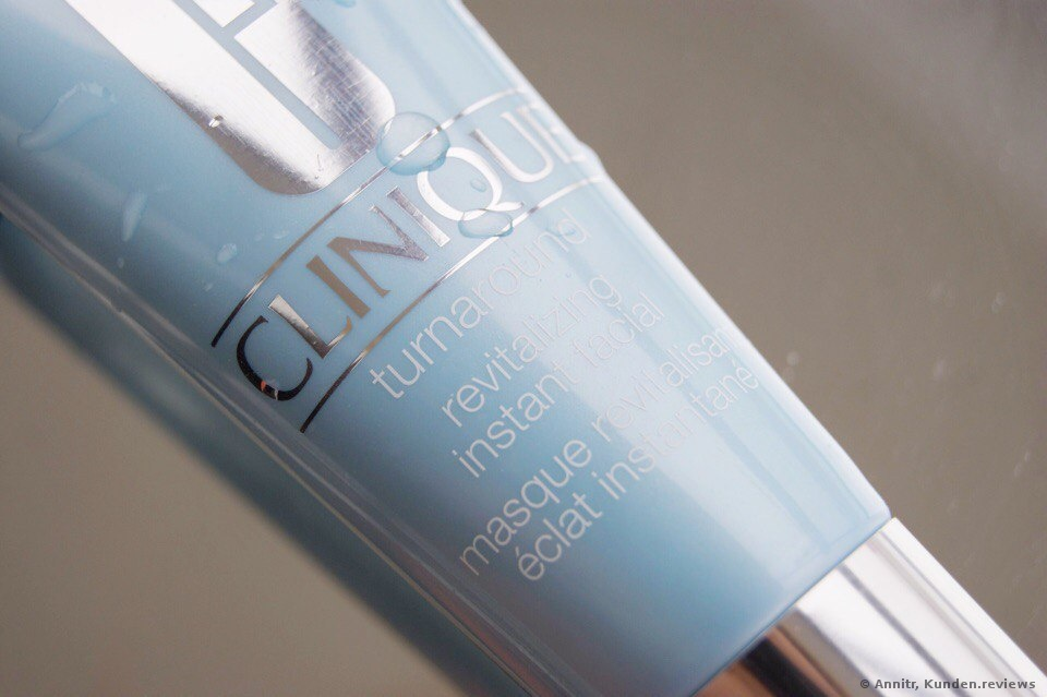 CLINIQUE Turnaround Revitalizing Instant Facial Gesichtsmaske Foto