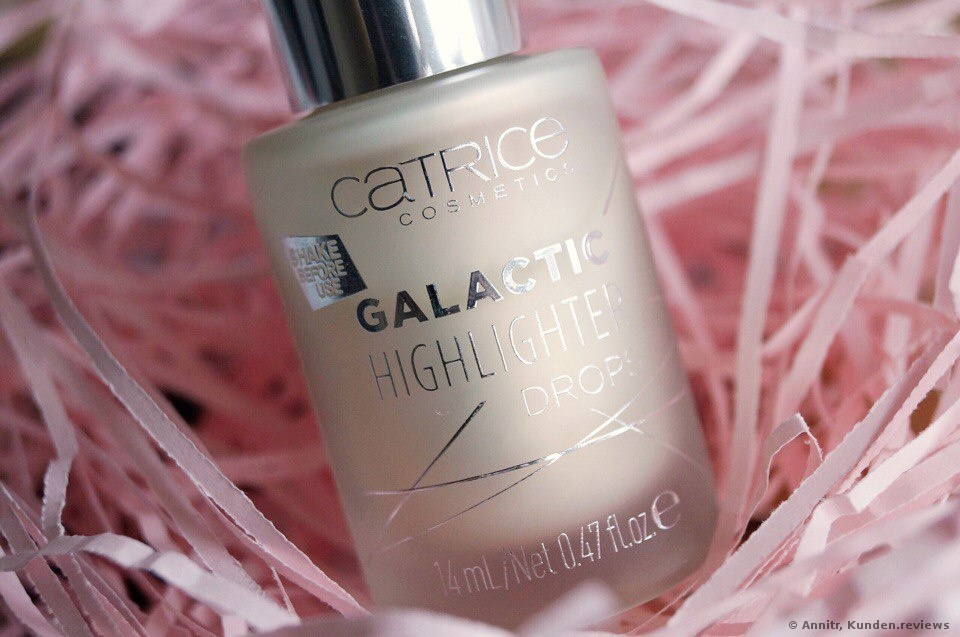 Catrice Galactic Highlighter Drops Foto