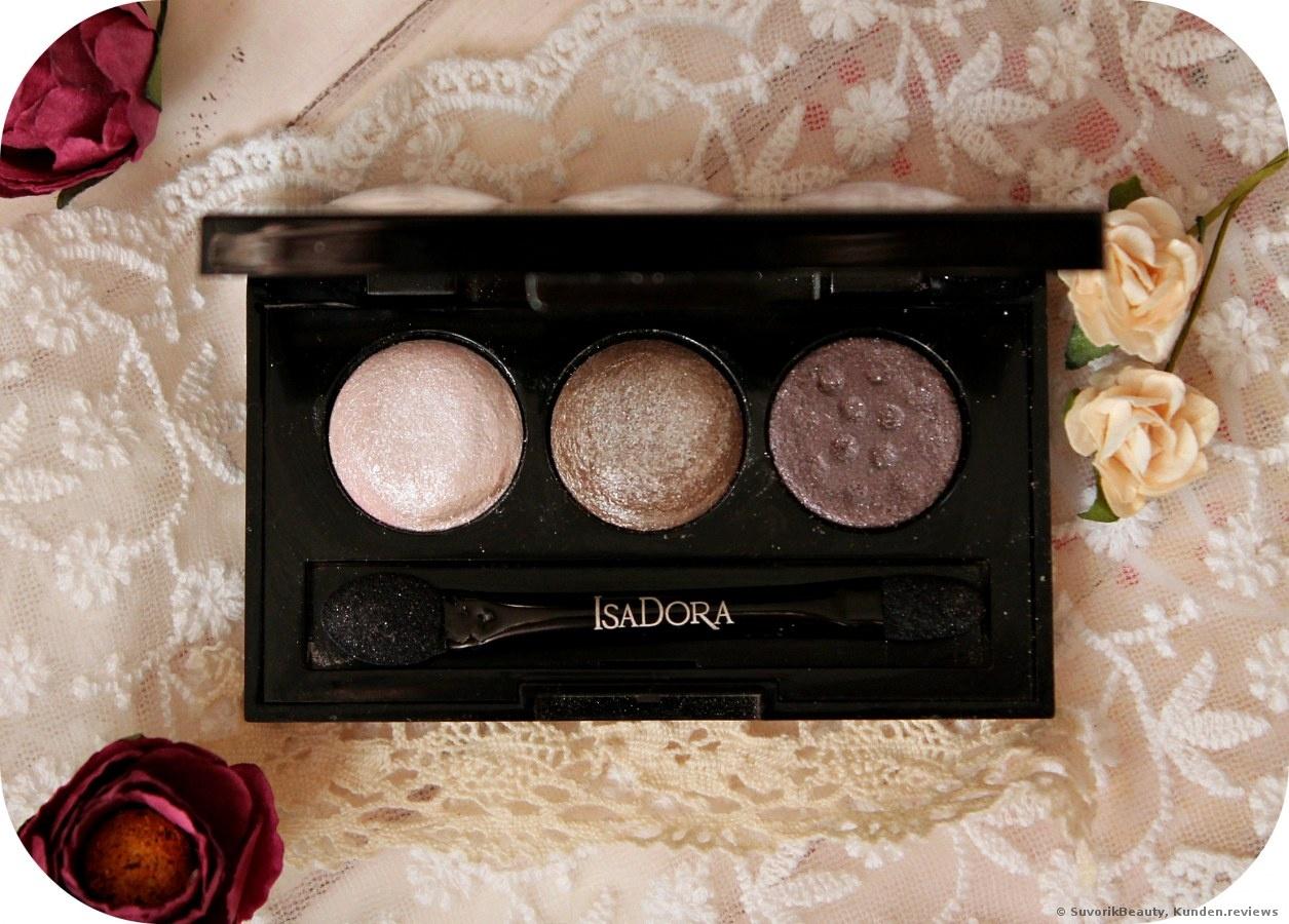 IsaDora Eye Shadow Trio Lidschatten Foto