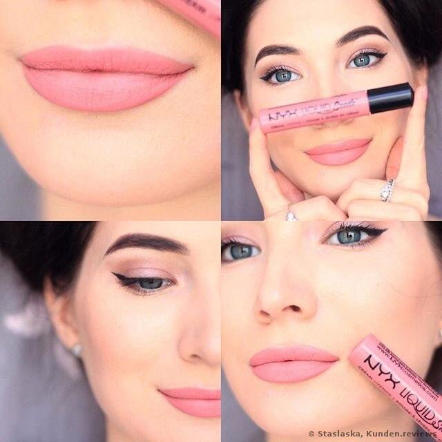 NYX Liquid Suede Lippenstift