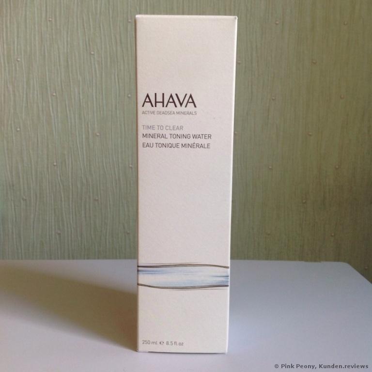 AHAVA Mineral Toning Water Gesichtswasser
