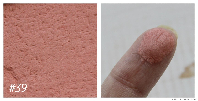 Artdeco Rouge Blusher # 39 -  orange rosewood blush