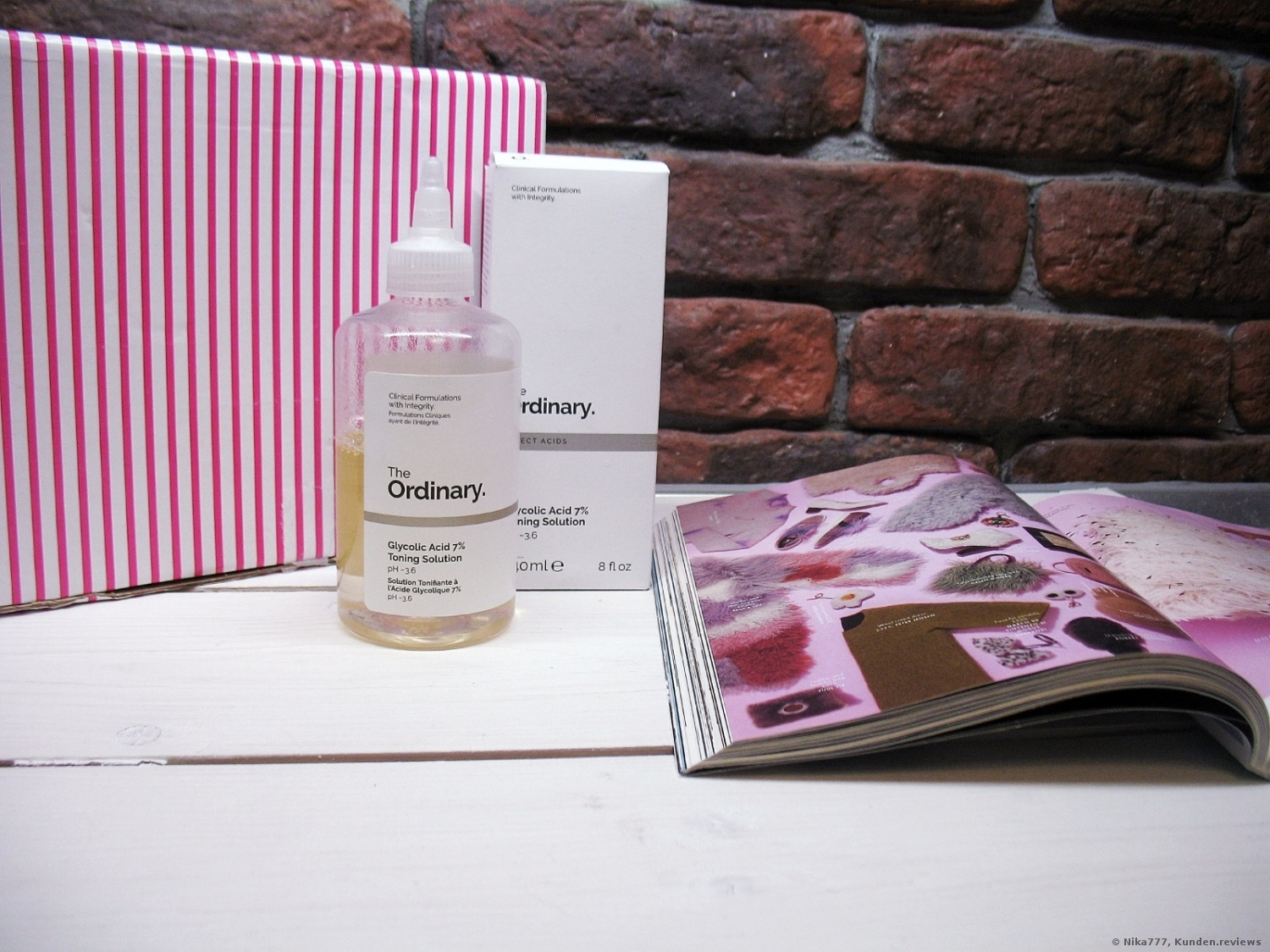 The Ordinary Glycolic Acid 7% Toning Solution Tonikum Foto