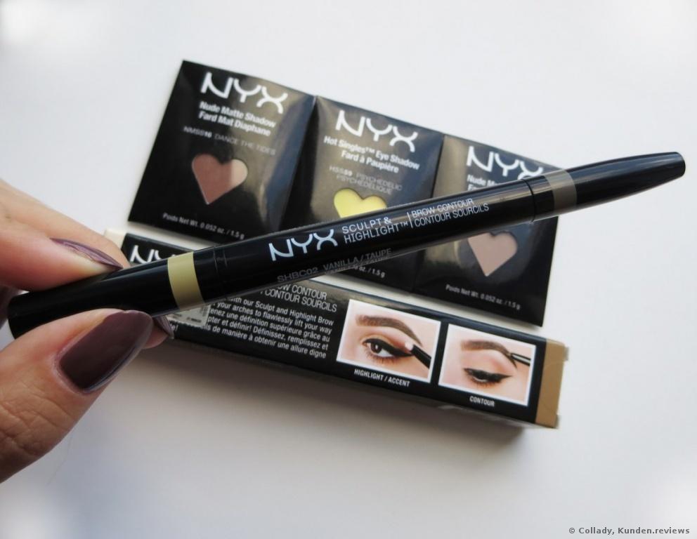 NYX Augenbrauen Sculpt & Highlight Brow Contour