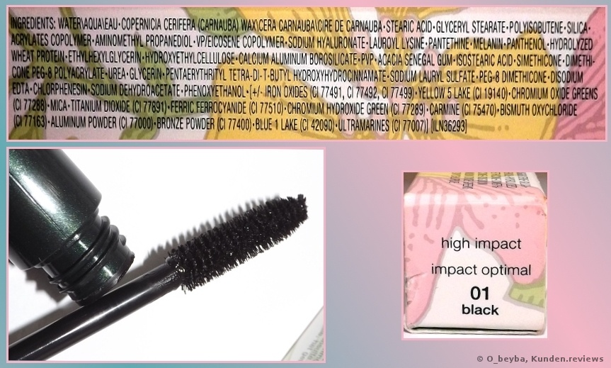 Clinique Augen High Impact Mascara