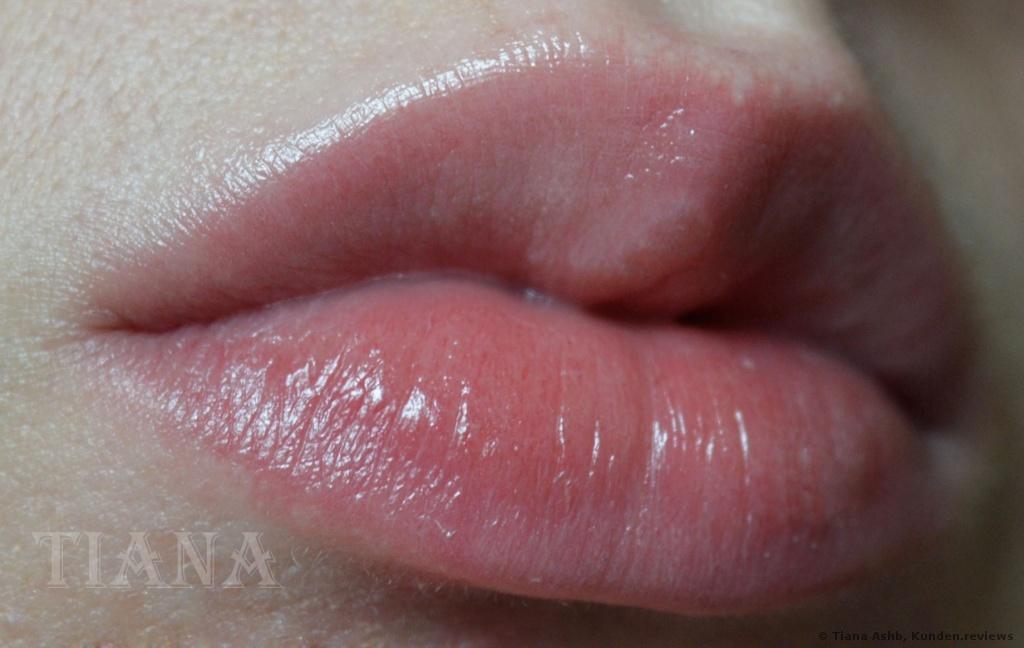 Ohne Lippie, nur eine Lippenpflege