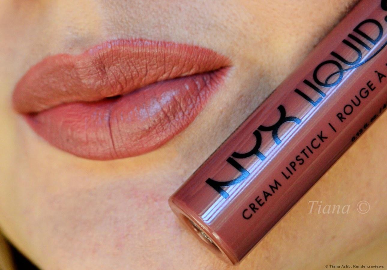 NYX Liquid Suede Cream Lippenstift