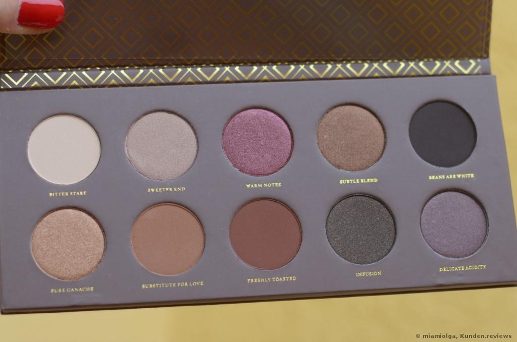 ZOEVA Cocoa Blend Palette Lidschatten Foto