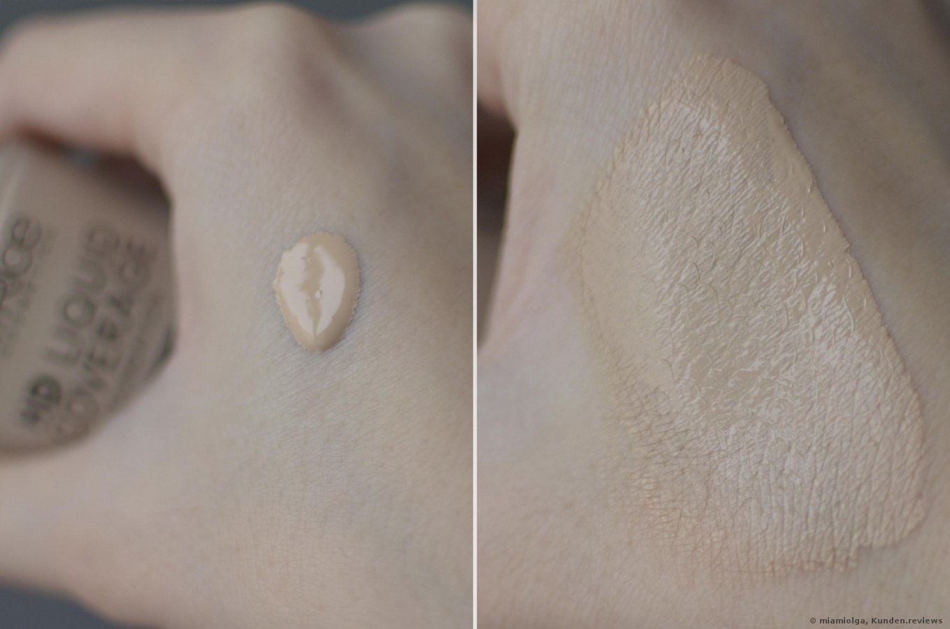 Catrice Make-up HD Liquid Coverage Foundation Review