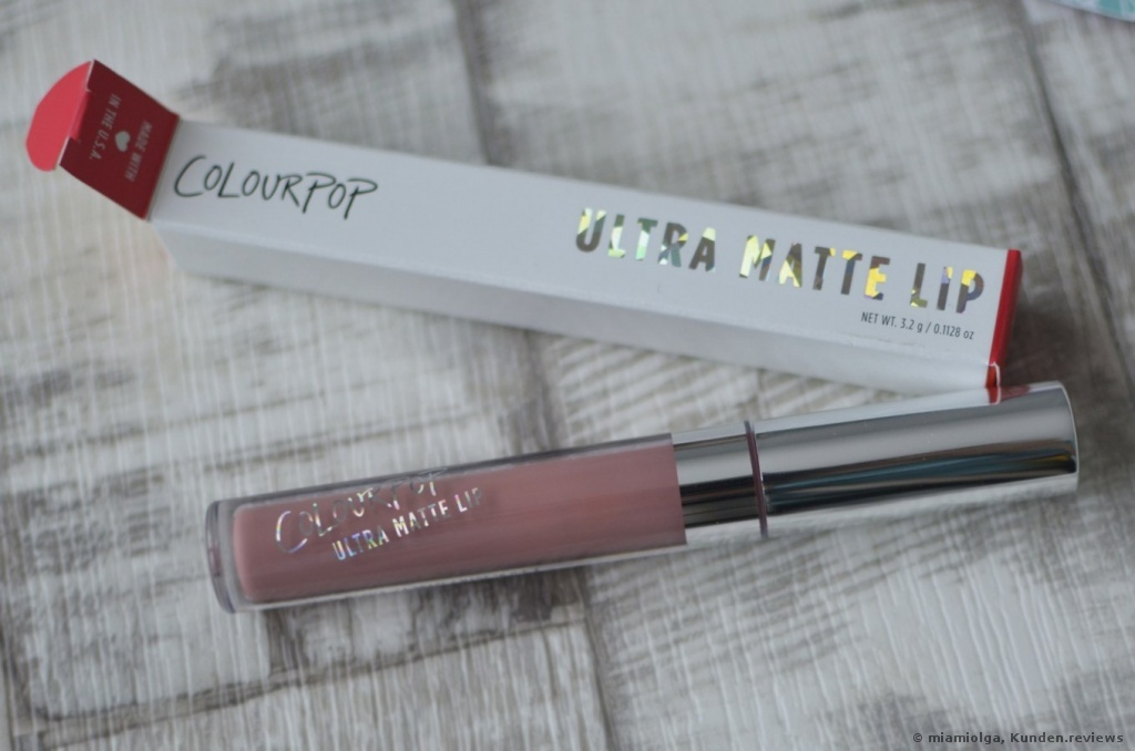 Colourpop Ultra Matte Lip Lippenstift Foto