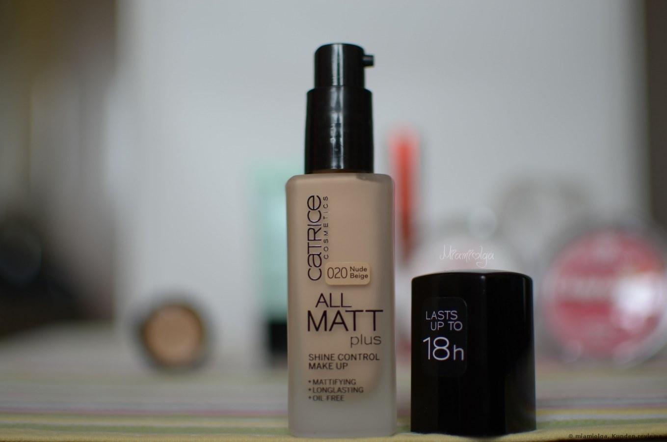 Catrice Foundation All Matt Plus Shine Control Make Up