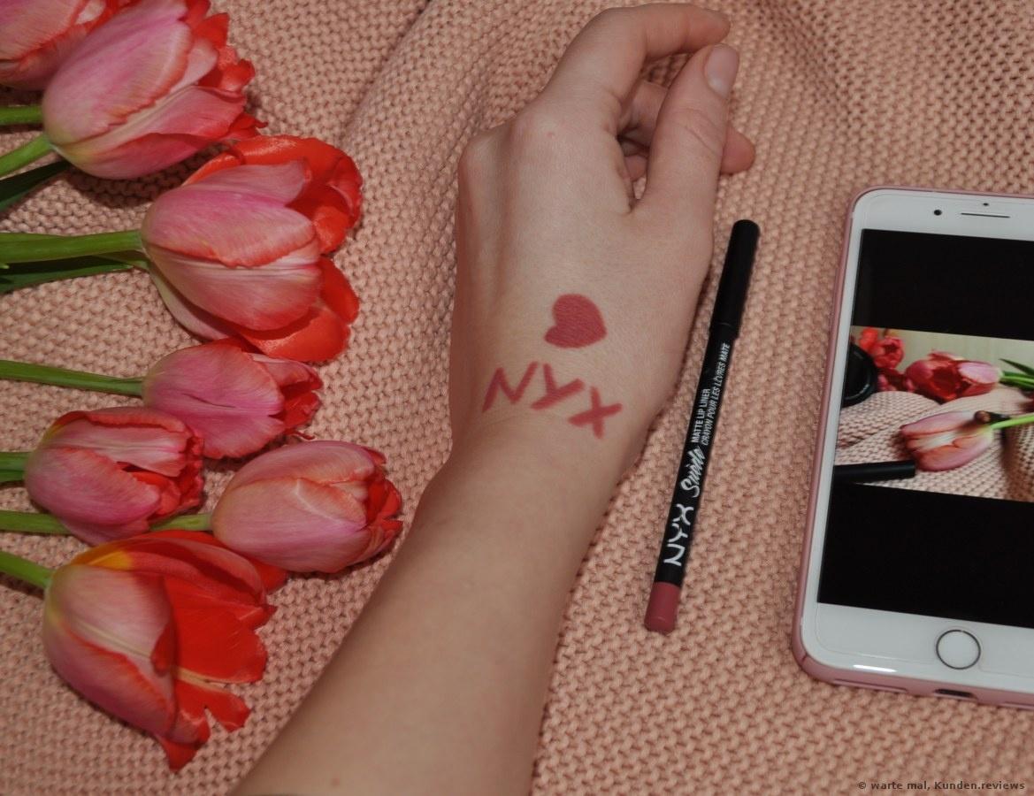 NYX Suede Matte Lip Liner Lippenkonturenstift Foto