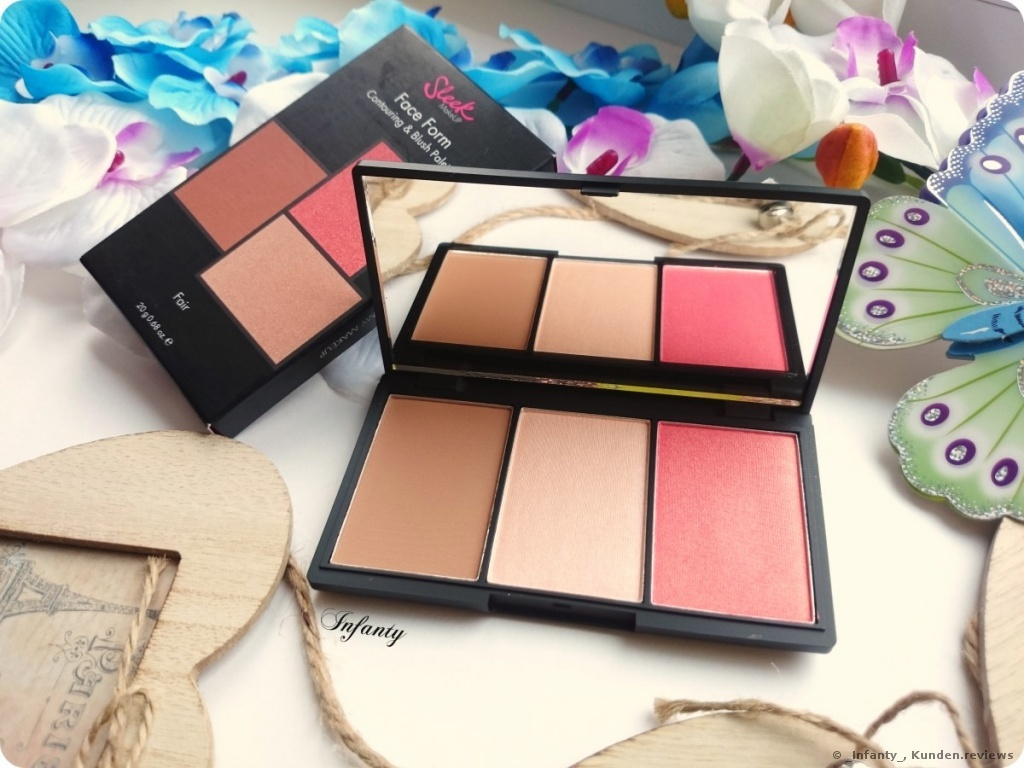 Sleek Face Form Contouring&Blush Palette