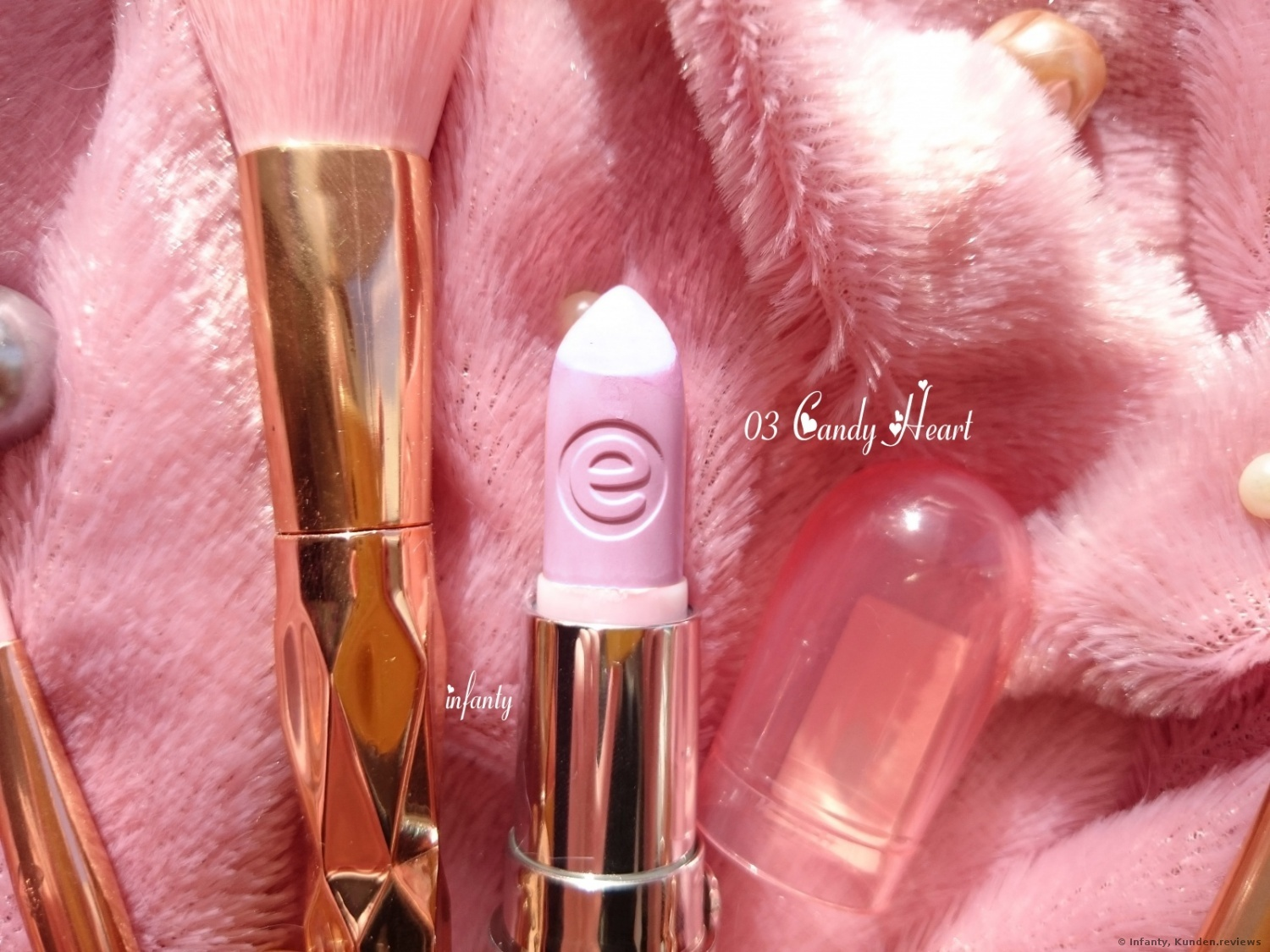 Essence Lippenstift Colour Up! Shine On # 03 Candy Heart