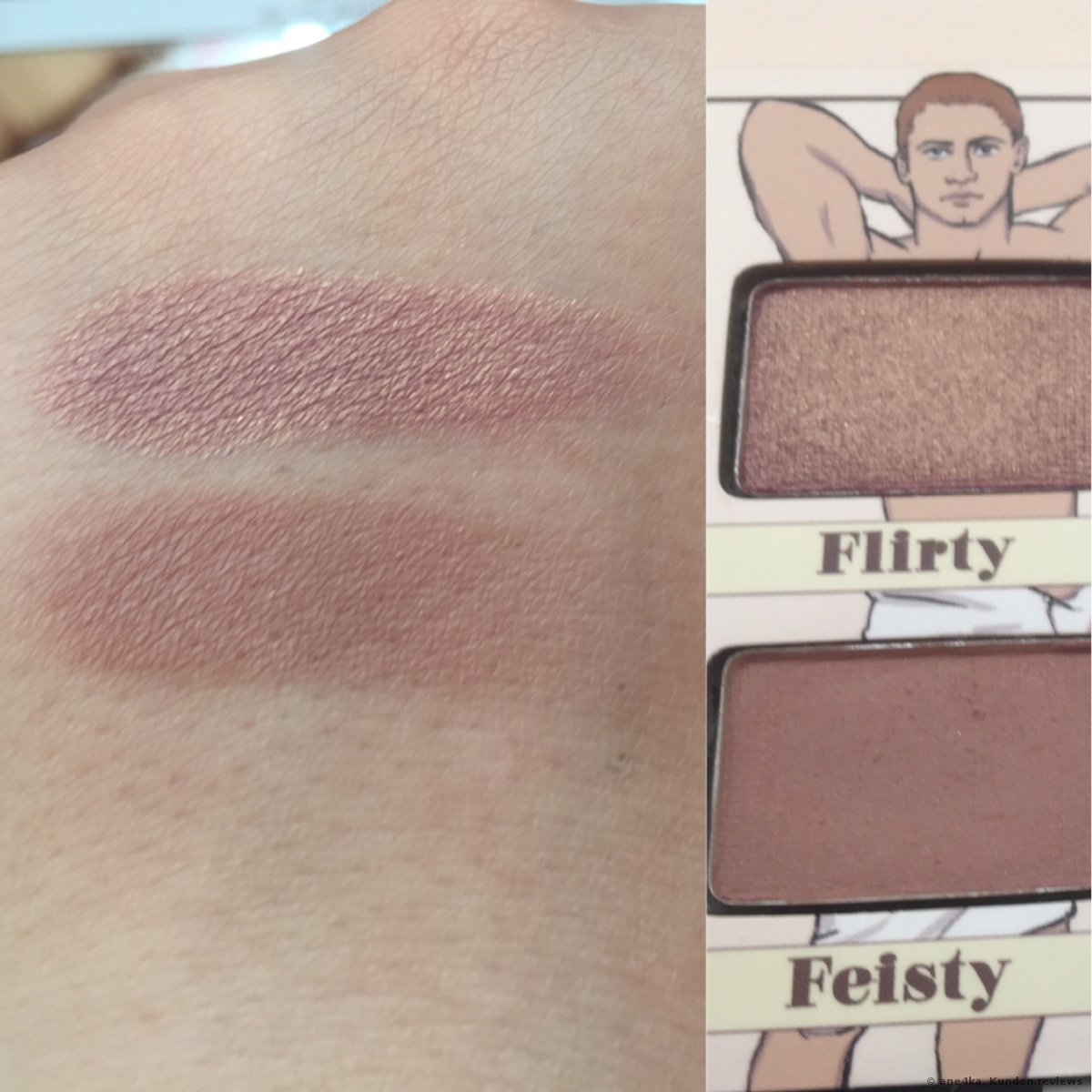 The Balm Nude Dude Lidschatten Palette