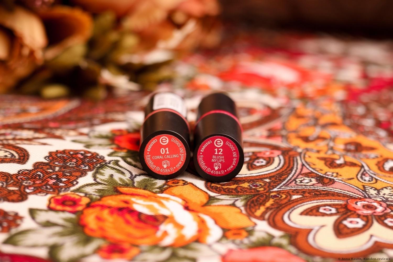 Lippenstift longlasting lipstick von Essence