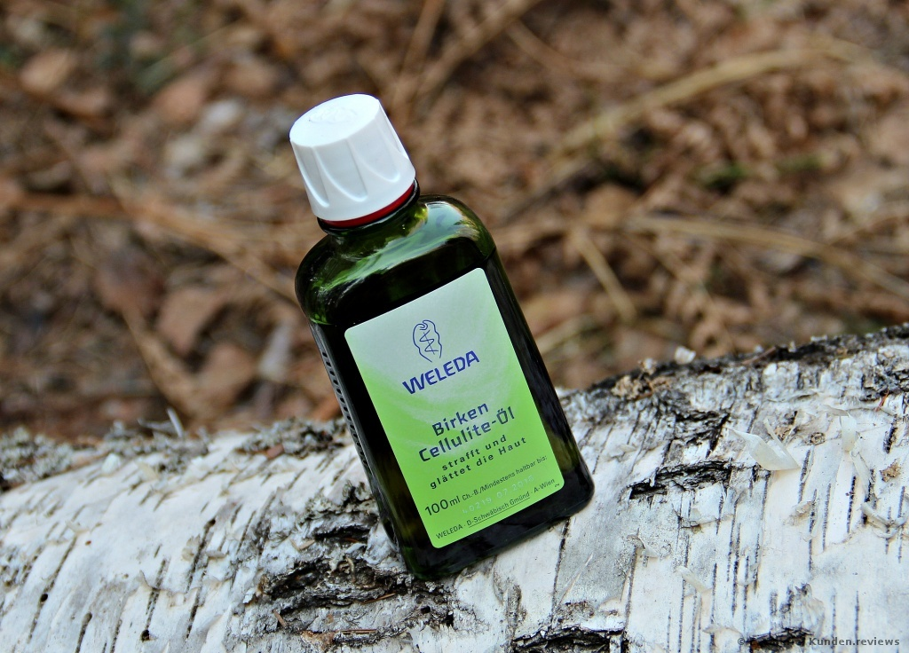 Birken Cellulite-Öl von Weleda