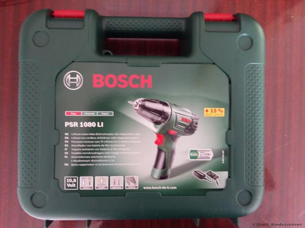 BOSCH PSR 1080 LI. Akkuschrauber