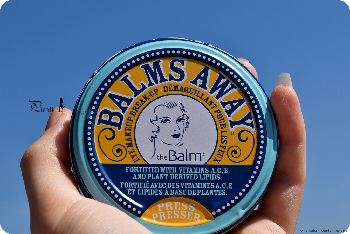 TheBalm Balms Away Makeup-Entferner Foto