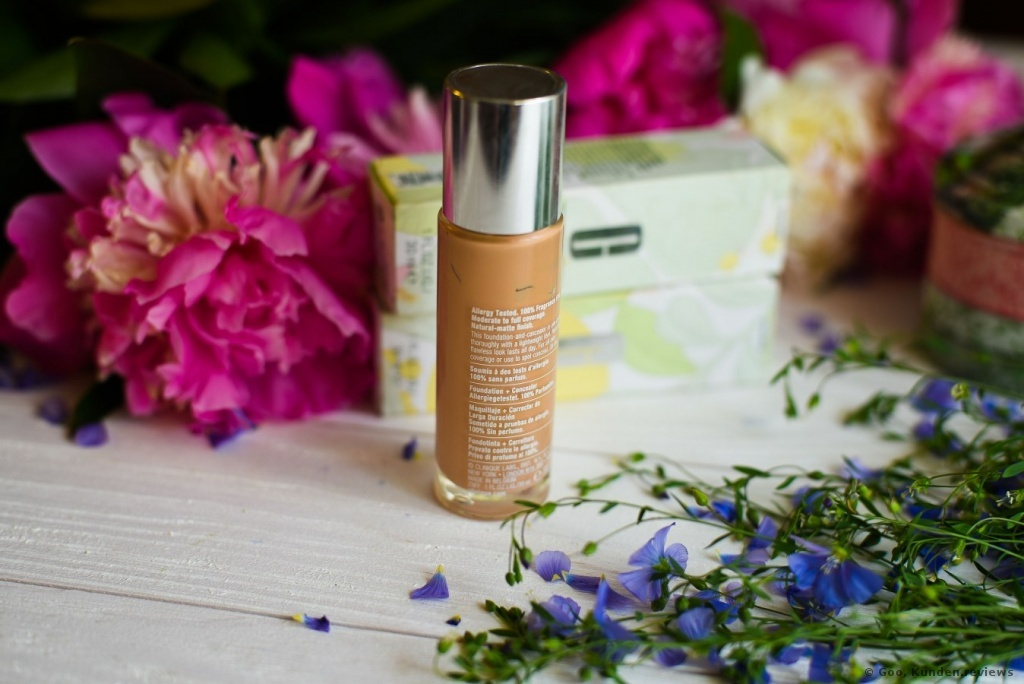Clinique Foundation Beyond Perfecting