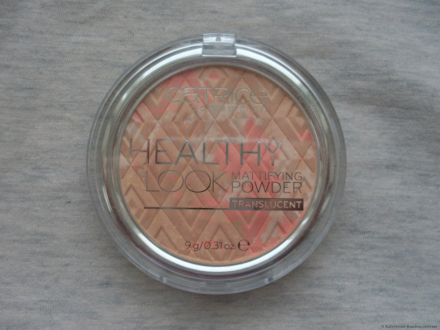 Catrice Healthy Look Mattifying Powder Luminous Light 10