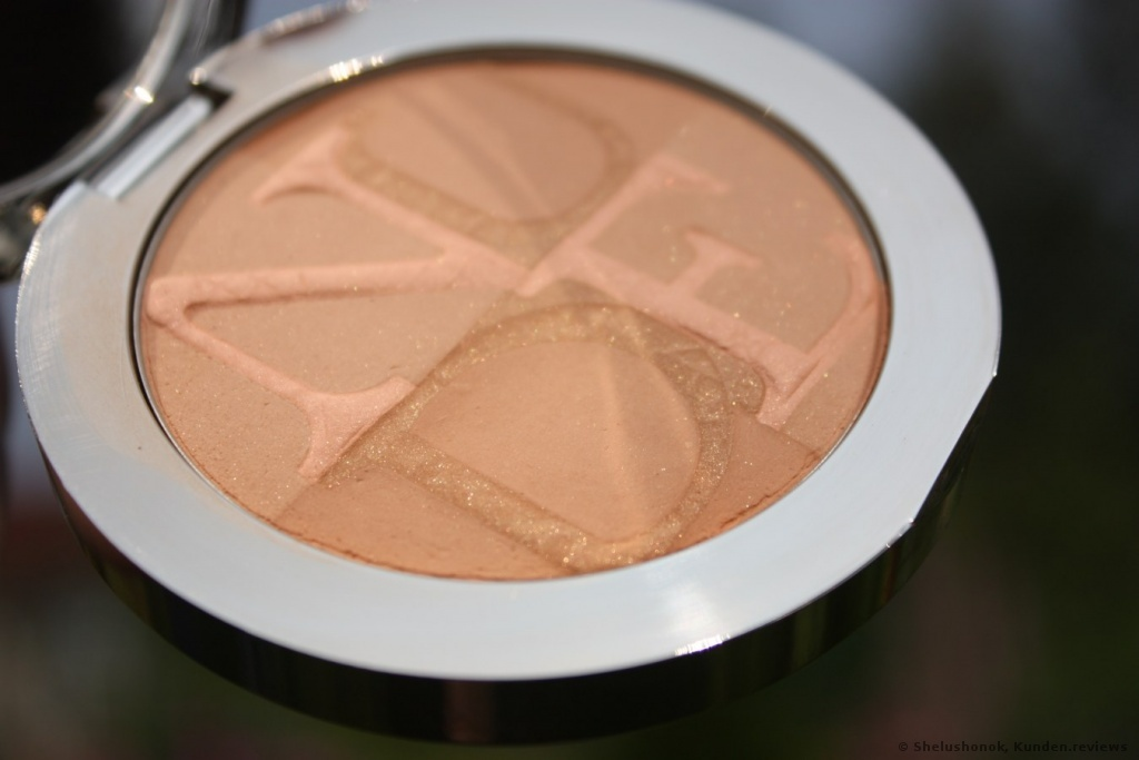 Dior  Skin Nude Tan Healthy Glow Puder Foto