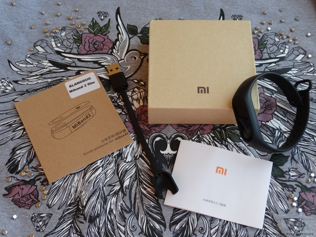 Fitness- Tracker Xiaomi Mi Band 2