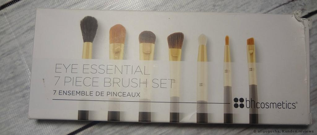 BH Cosmetics Eye Essential Pinselset Foto