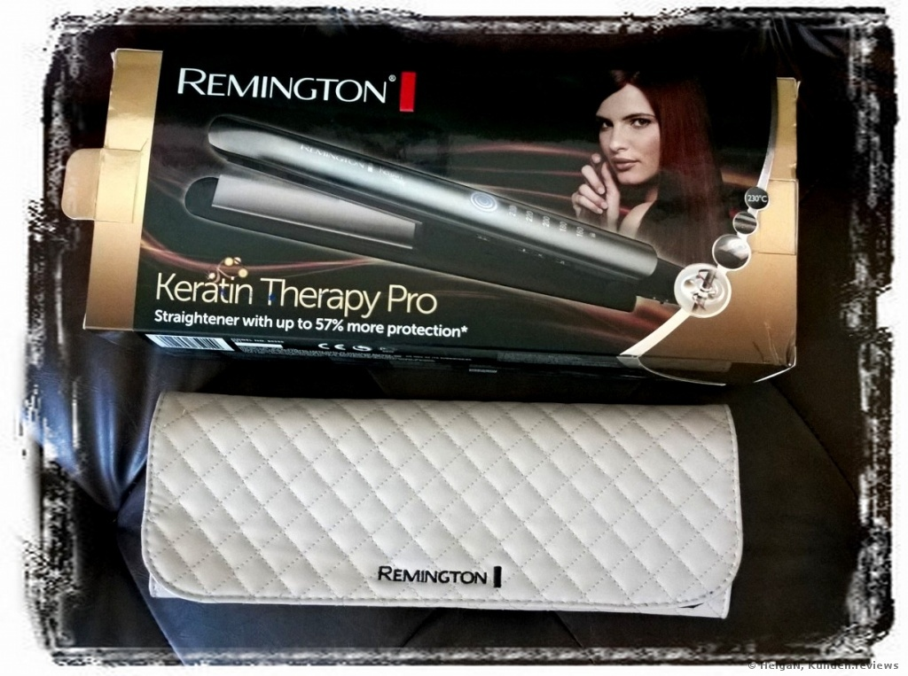 Remington S8590 Keratin Therapy Haarglätter Foto