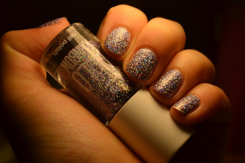 Nagellack holo rainbow nail polish multicolour 01