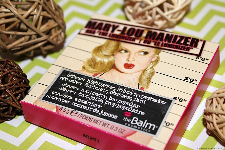 theBalm Highlighter Mary-Lou Manizer