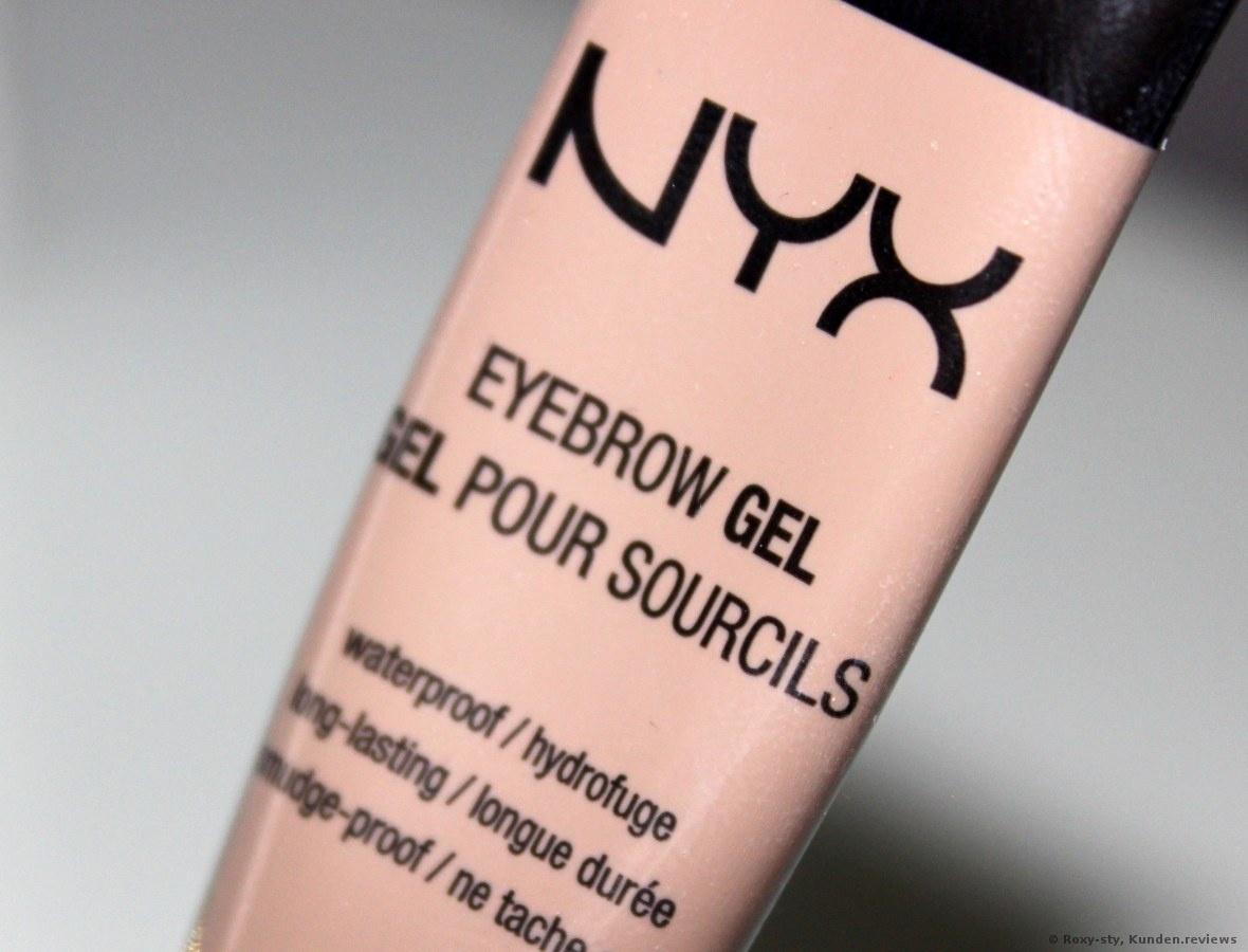 Augenbrauen Eyebrow Gel von NYX