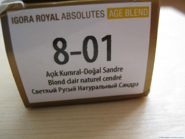 Schwarzkopf Igora Royal Absolutes Age Blend 8-01