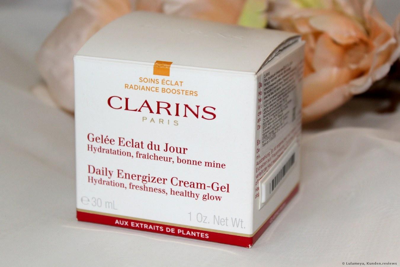 Clarins Daily Energizer Cream Gel Gesichtscreme Foto