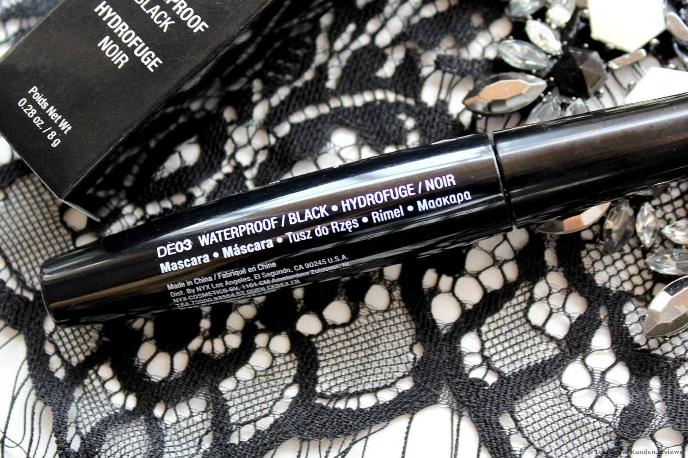 NYX Professional Makeup Mascara Doll Eye Mascara