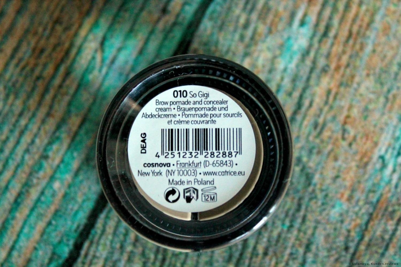 Catrice Brow Hero 2in1 Brow Pomade & Camouflage Waterproof Augenbrauenstift Foto