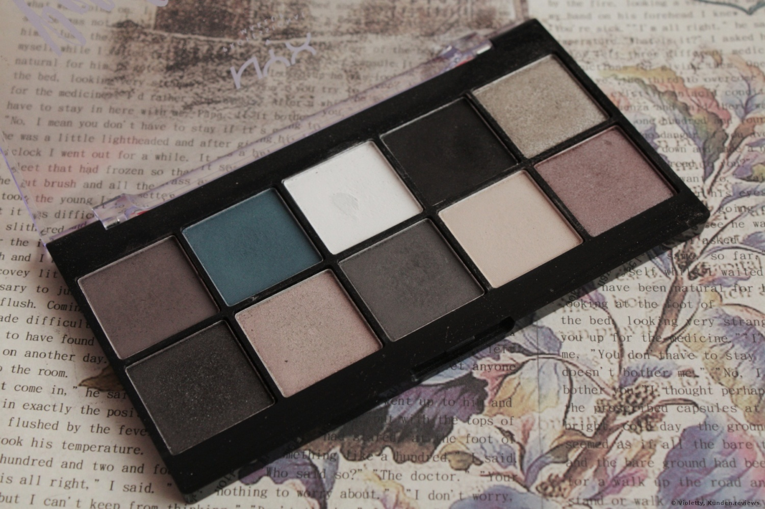 NYX Prof. Makeup Perfect Filter Shadow Palette