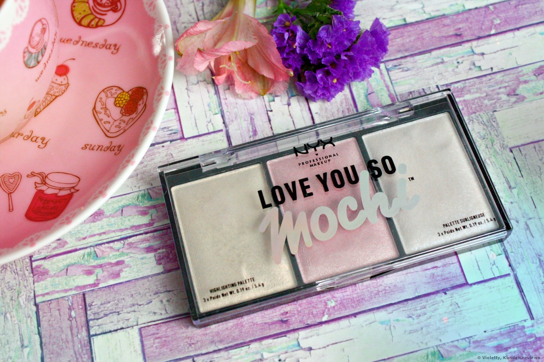 NYX Love You So Mochi Highlighter Foto