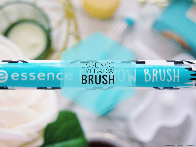 Essence eyebrow brush Augenbrauenpinsel Foto