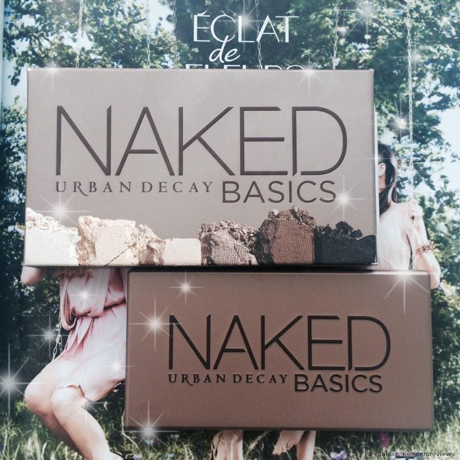 Urban Decay Lidschatten Naked Basics