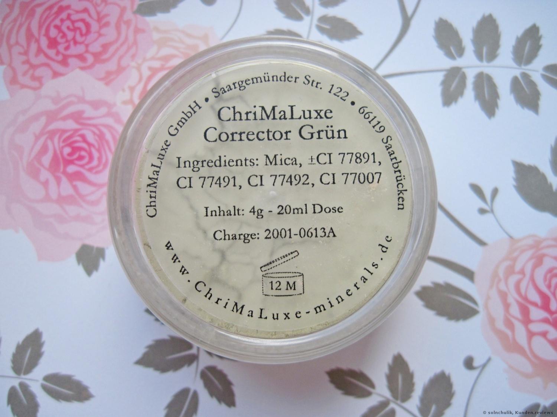 ChriMaLuxe Corrector Grün Concealer Foto