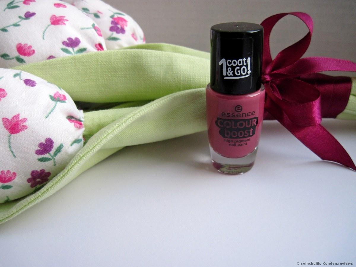 Essence Colour Boost Nagellack - «Fast perfekt oder habe ich nur ...