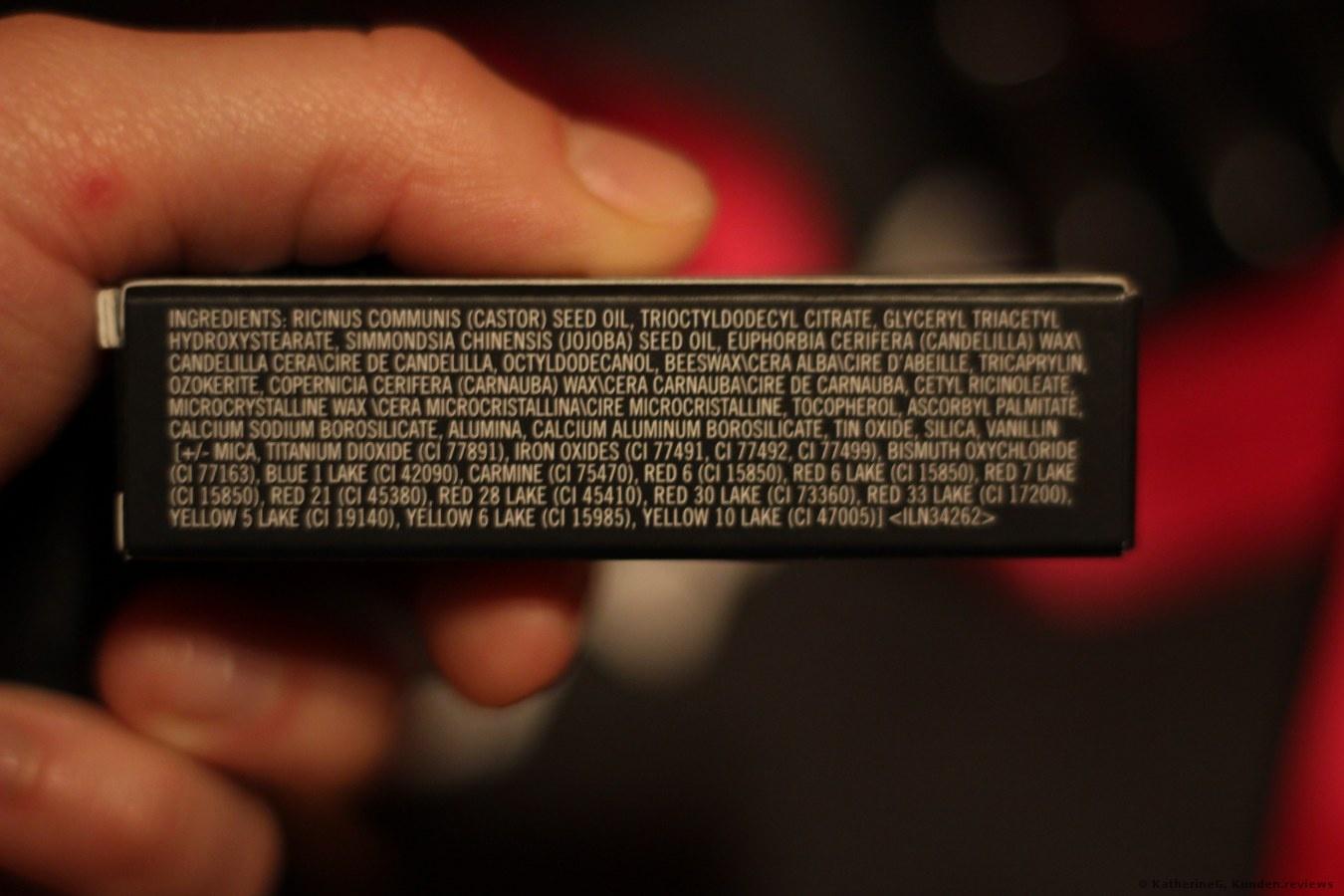 MAC Matte Lippenstift