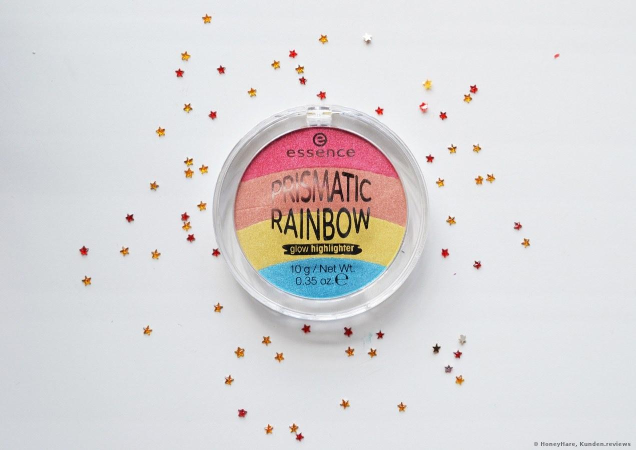 Essence Prismatic Rainbow glow highlighter - Farbton 10 be a unicorn.