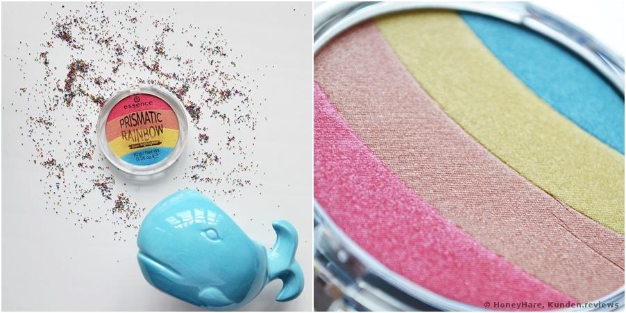 Essence Prismatic Rainbow glow highlighter - Farbton 10 be a unicorn