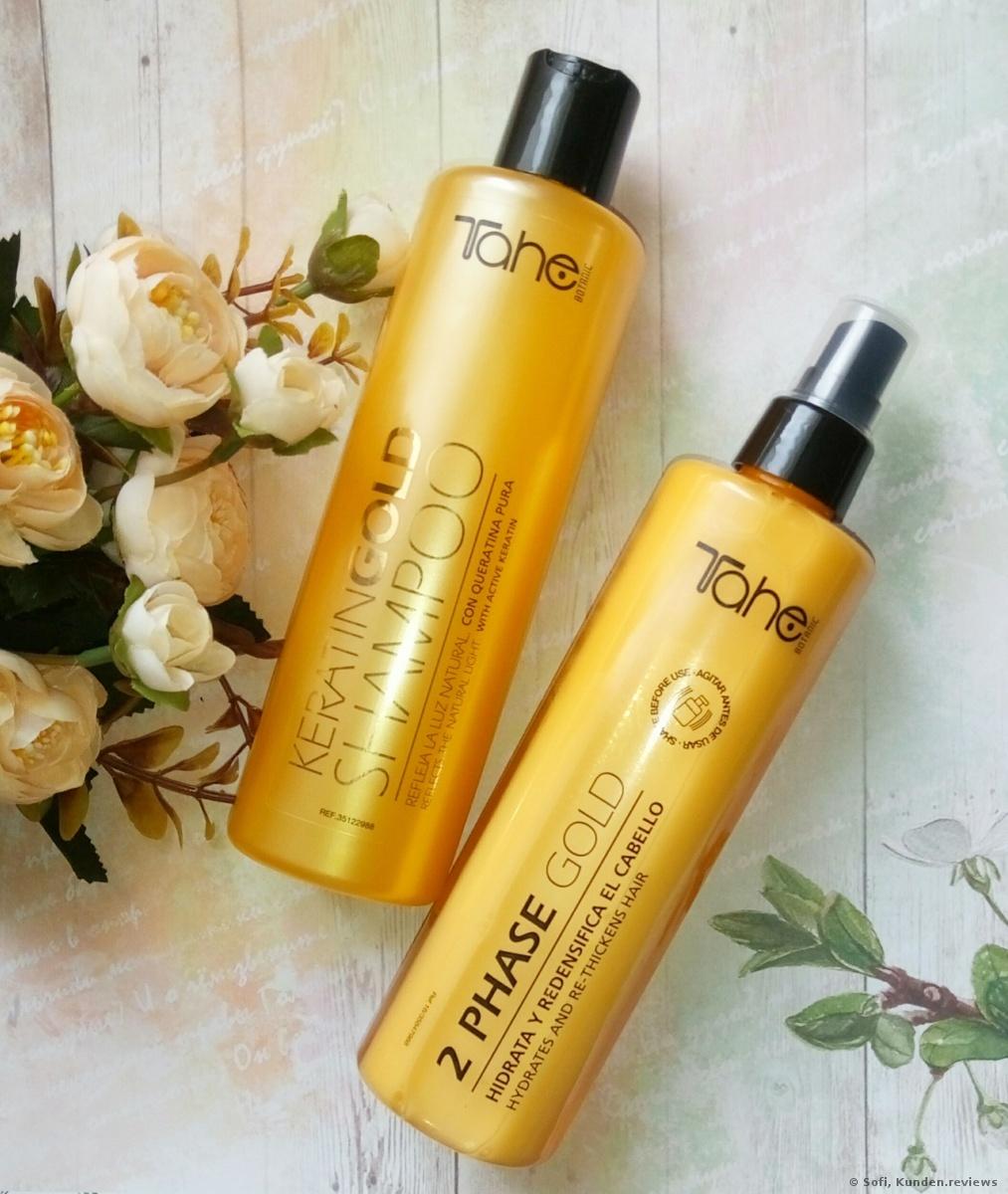 Tahe  Keratin Gold Shampoo Foto