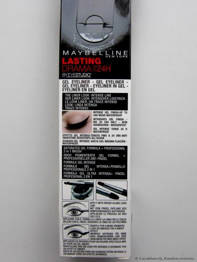 MAYBELLINE EyeStudio Lasting Drama Gel Liner